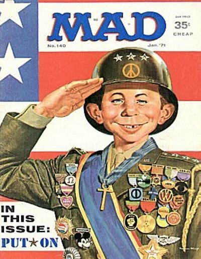 Cover for MAD (EC, 1952 series) #140