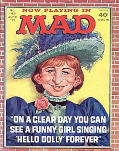 Cover for MAD (EC, 1952 series) #143