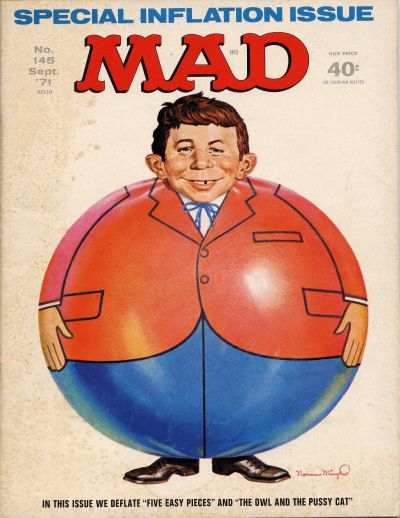 Cover for MAD (EC, 1952 series) #145