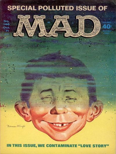 Cover for MAD (EC, 1952 series) #146