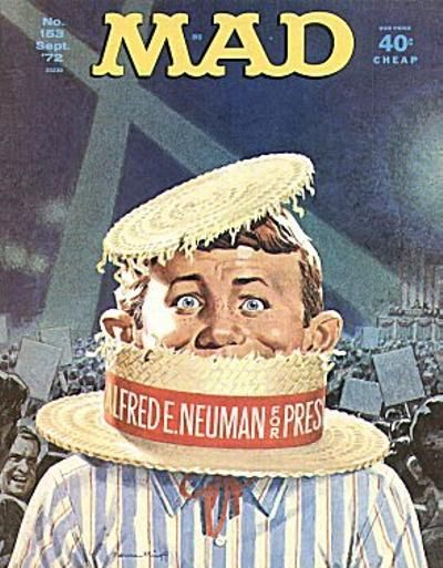 Cover for MAD (EC, 1952 series) #153
