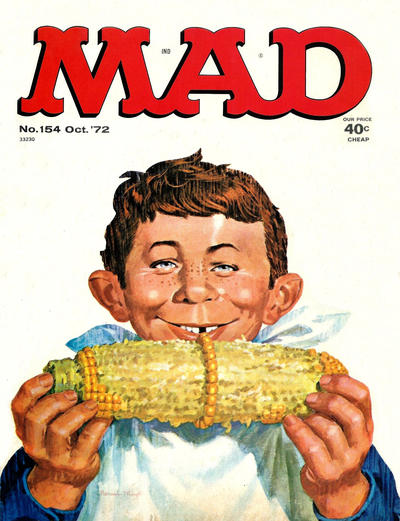 Cover for MAD (EC, 1952 series) #154