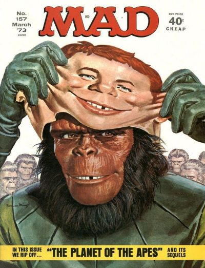 Cover for MAD (EC, 1952 series) #157