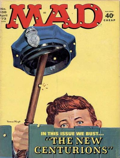 Cover for MAD (EC, 1952 series) #158