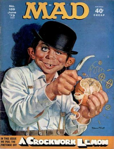 Cover for MAD (EC, 1952 series) #159