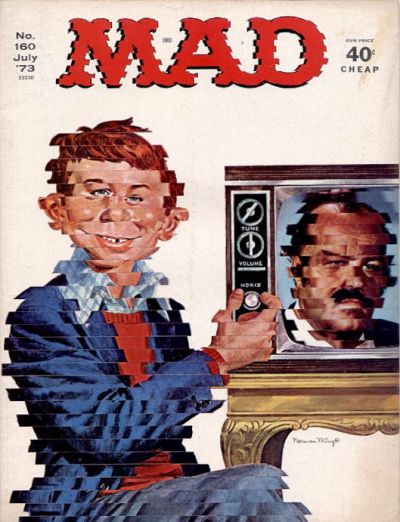 Cover for MAD (EC, 1952 series) #160