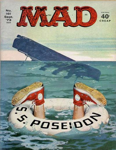 Cover for MAD (EC, 1952 series) #161