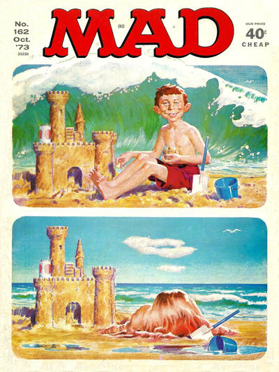 Cover for Mad (EC, 1952 series) #162