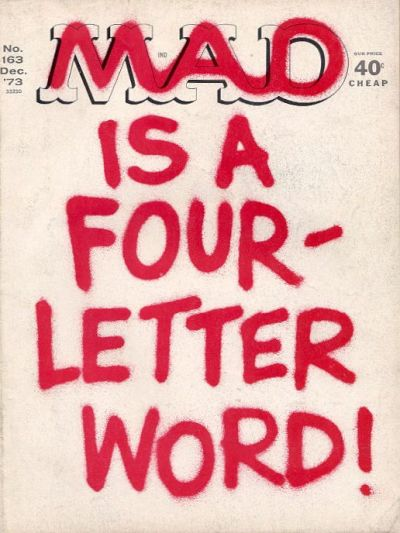 Cover for MAD (EC, 1952 series) #163