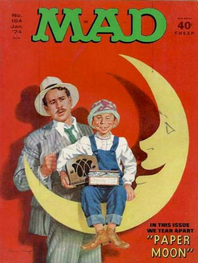 Cover for MAD (EC, 1952 series) #164