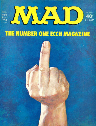 Cover for MAD (EC, 1952 series) #166