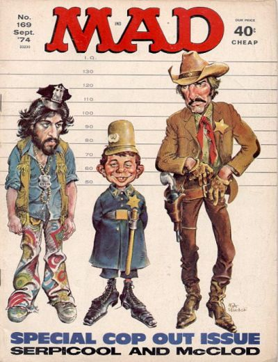 Cover for MAD (EC, 1952 series) #169
