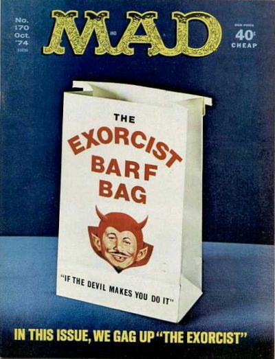 Cover for MAD (EC, 1952 series) #170