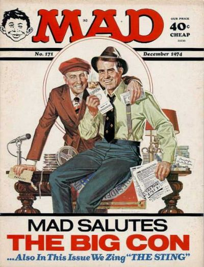 Cover for MAD (EC, 1952 series) #171