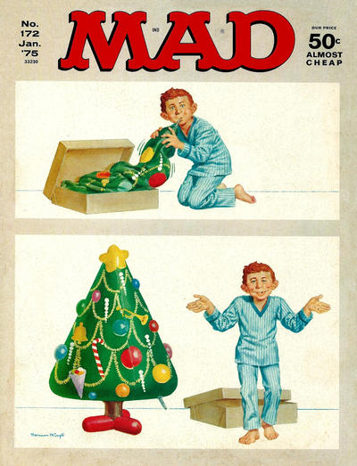 Cover for MAD (EC, 1952 series) #172