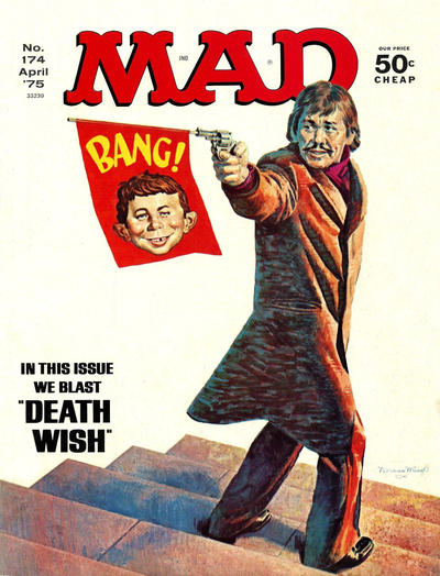 Cover for MAD (EC, 1952 series) #174