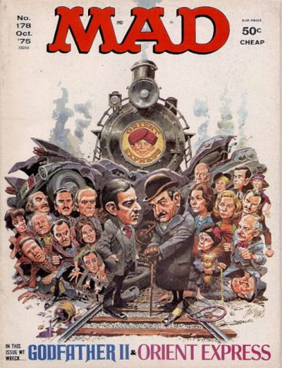 Cover for MAD (EC, 1952 series) #178