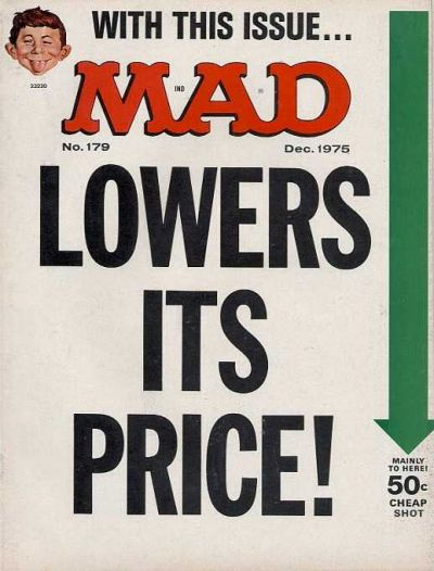 Cover for MAD (EC, 1952 series) #179