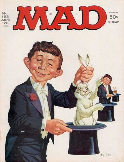 Cover for MAD (EC, 1952 series) #182