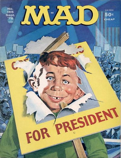 Cover for MAD (EC, 1952 series) #185