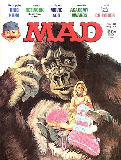 Cover for MAD (EC, 1952 series) #192