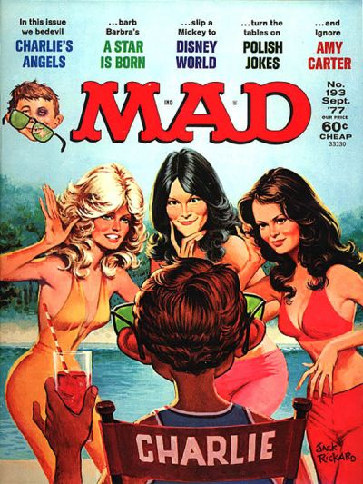 Cover for MAD (EC, 1952 series) #193