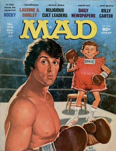 Cover for MAD (EC, 1952 series) #194