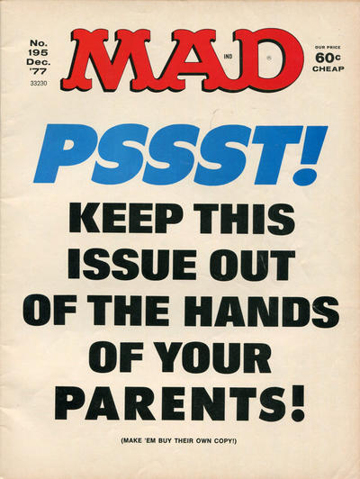 Cover for MAD (EC, 1952 series) #195
