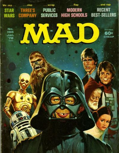 Cover for MAD (EC, 1952 series) #196
