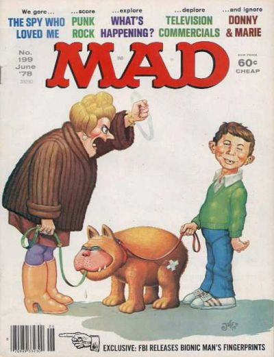 Cover for MAD (EC, 1952 series) #199