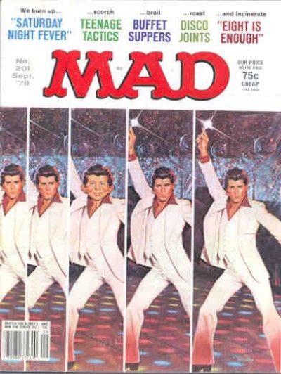 Cover for MAD (EC, 1952 series) #201