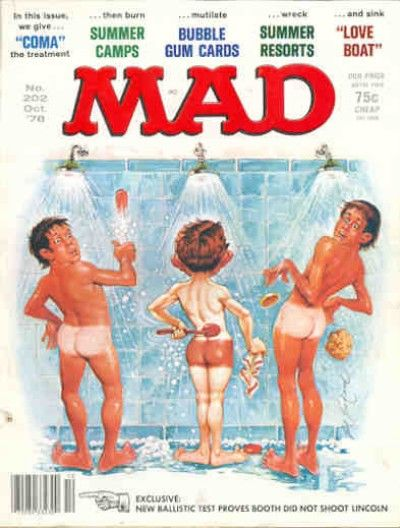 Cover for MAD (EC, 1952 series) #202
