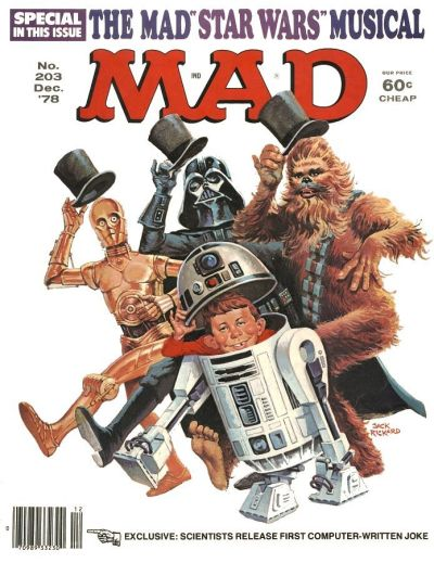 Cover for MAD (EC, 1952 series) #203