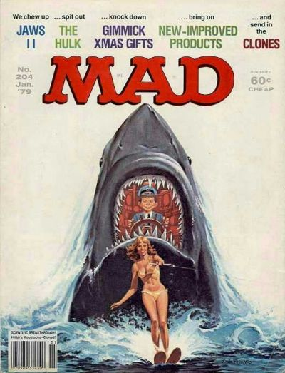 Cover for MAD (EC, 1952 series) #204