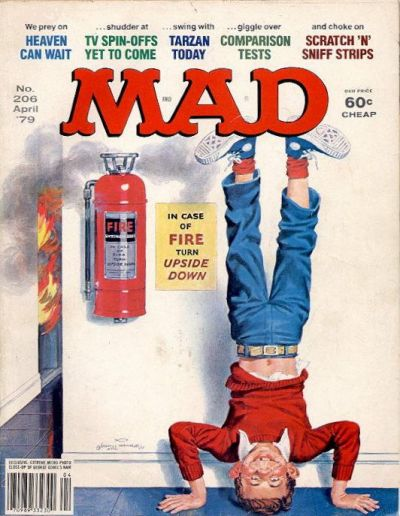 Cover for MAD (EC, 1952 series) #206