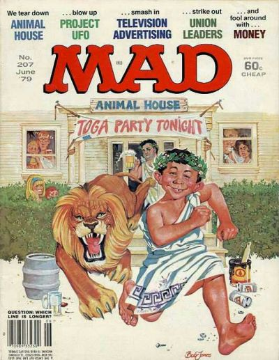 Cover for MAD (EC, 1952 series) #207