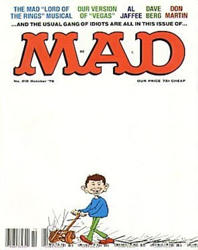 Cover for MAD (EC, 1952 series) #210