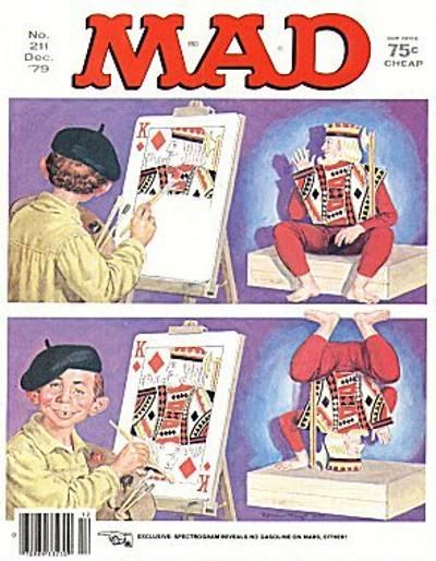 Cover for MAD (EC, 1952 series) #211