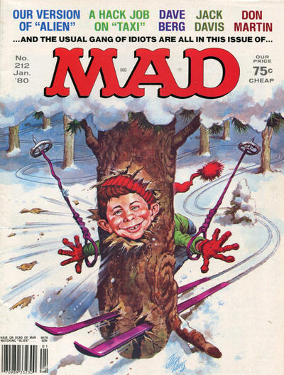Cover for MAD (EC, 1952 series) #212
