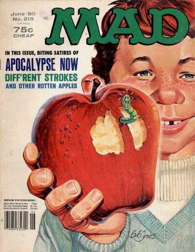 Cover for MAD (EC, 1952 series) #215