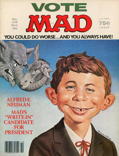 Cover for MAD (EC, 1952 series) #218
