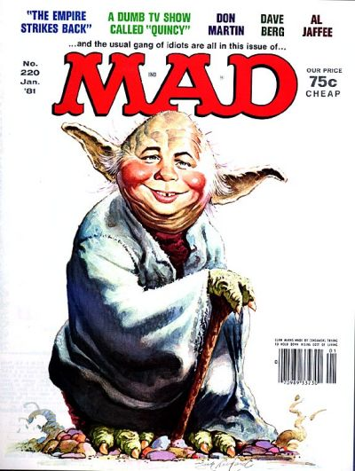 Cover for MAD (EC, 1952 series) #220