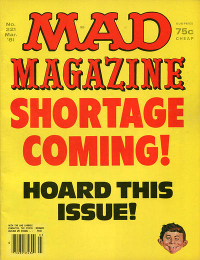 Cover for MAD (EC, 1952 series) #221