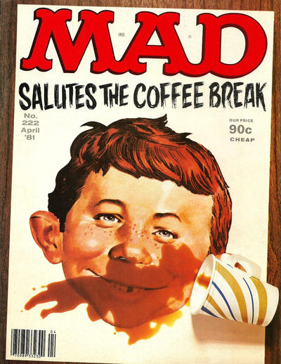 Cover for MAD (EC, 1952 series) #222
