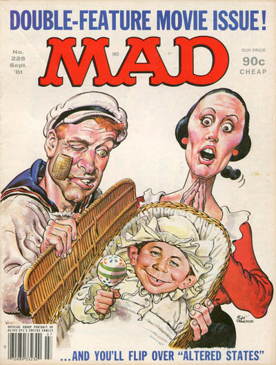 Cover for MAD (EC, 1952 series) #225