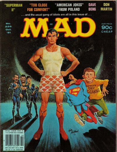 Cover for MAD (EC, 1952 series) #226