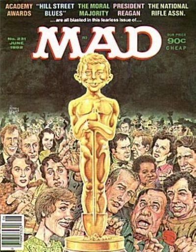 Cover for MAD (EC, 1952 series) #231