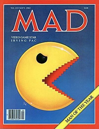 Cover for MAD (EC, 1952 series) #233
