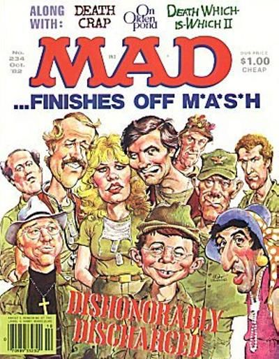 Cover for MAD (EC, 1952 series) #234