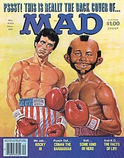 Cover for MAD (EC, 1952 series) #235